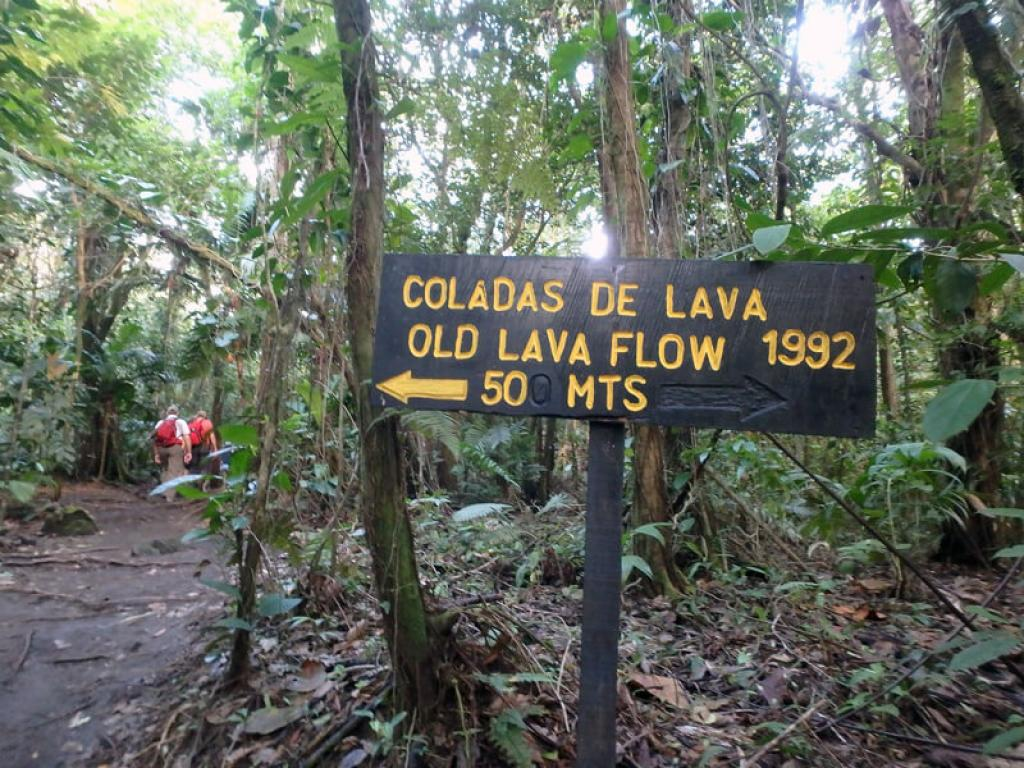 Guided Hikes to Arenal Volcano National Park