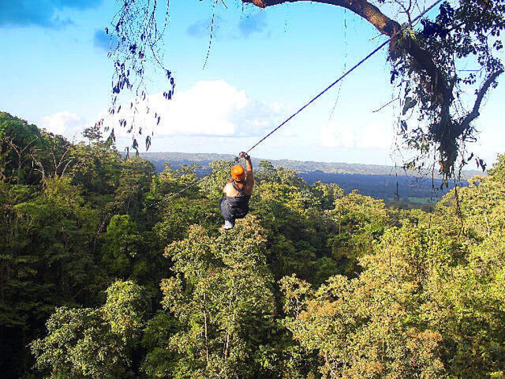 Ziplining in Arenal Costa Rica