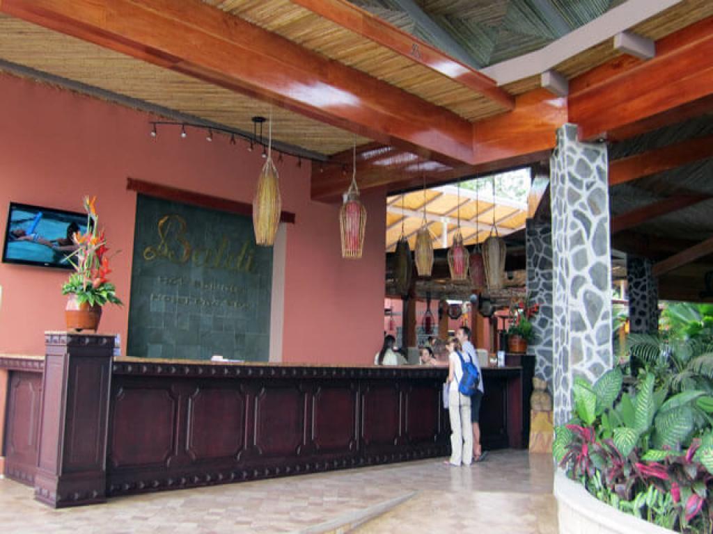 Reception Baldi Hot Springs