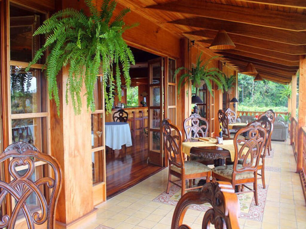 Hotel Belmar Restaurant Balcony