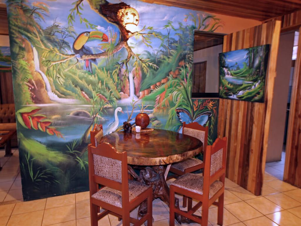 Breakfast Room Monteverde Villa Lodge