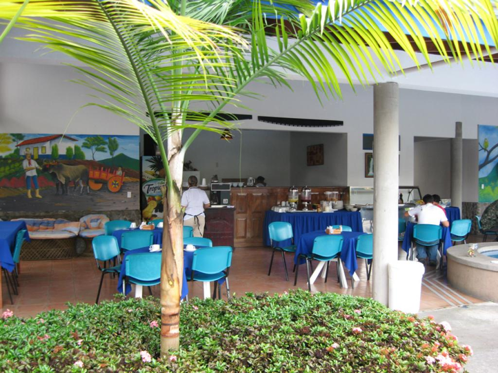 San Bosco Inn Breakfast Room