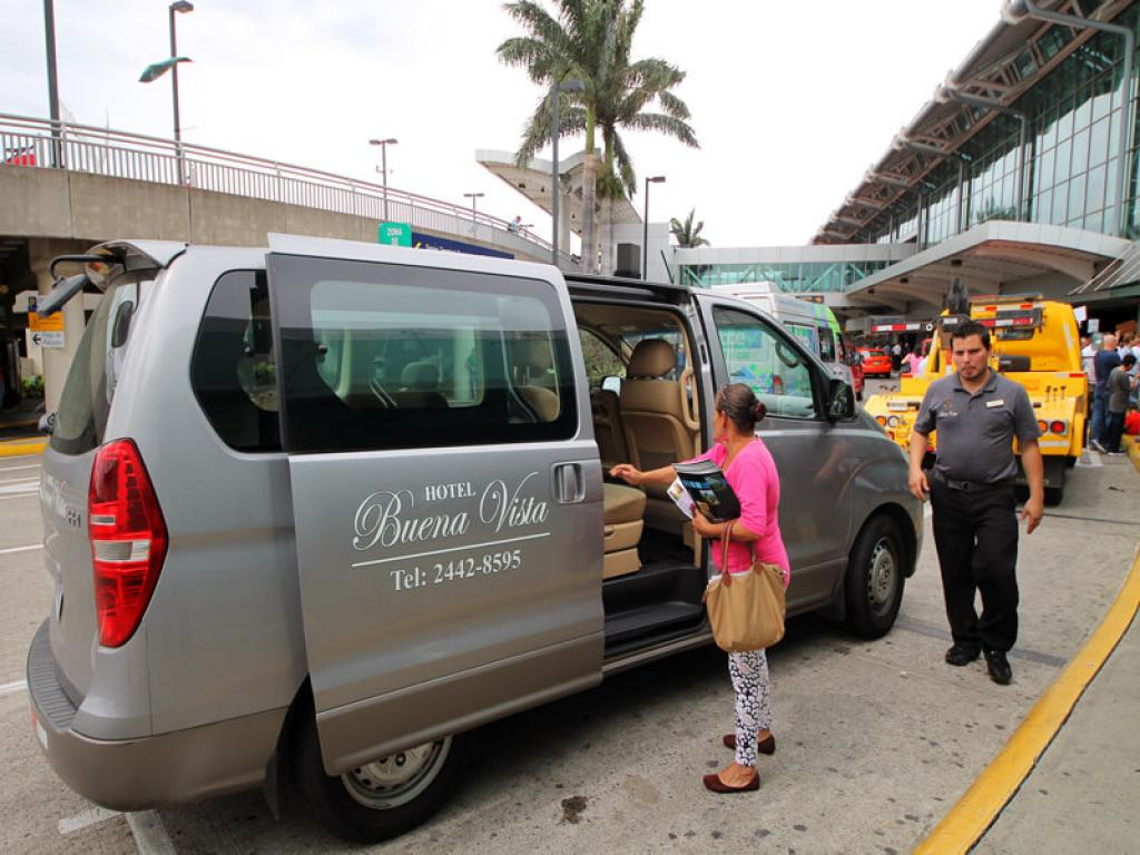 Free Airport Pick up Buena Vista San Jose Airport Hotel
