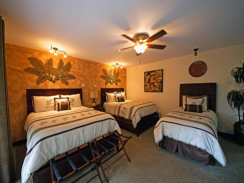 Rooms at Buena Vista San Jose Airport Hotel