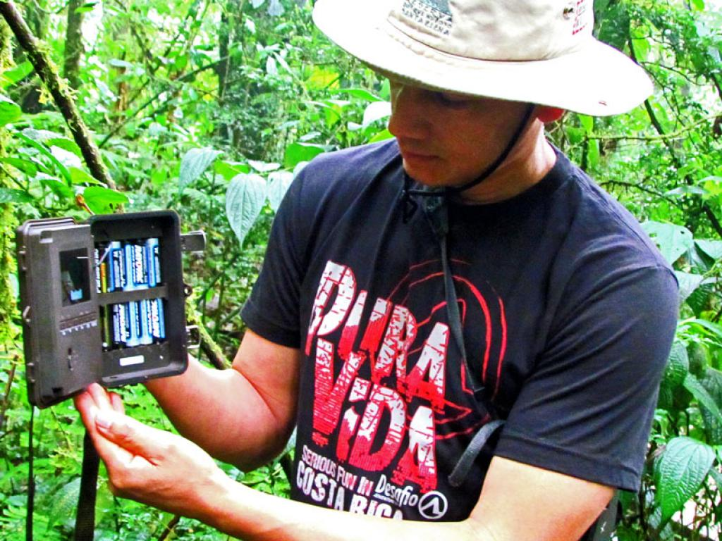 Cameras Santa Elena Cloud Forest Costa Rica