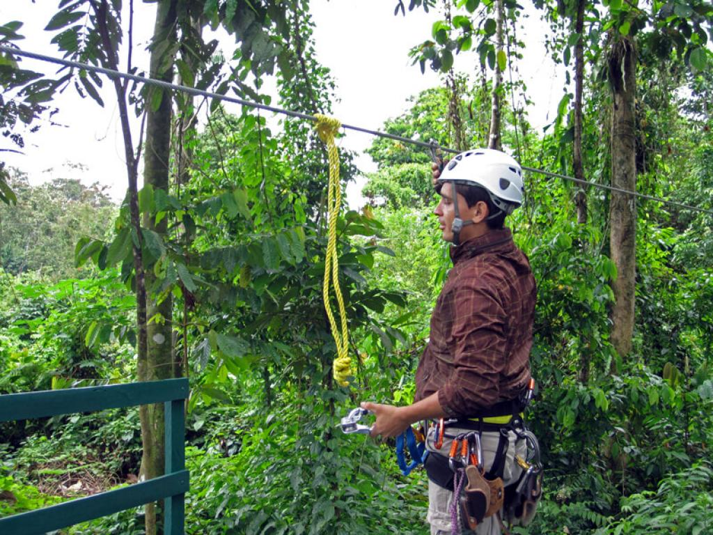 Canopy Guide Vista Arenal