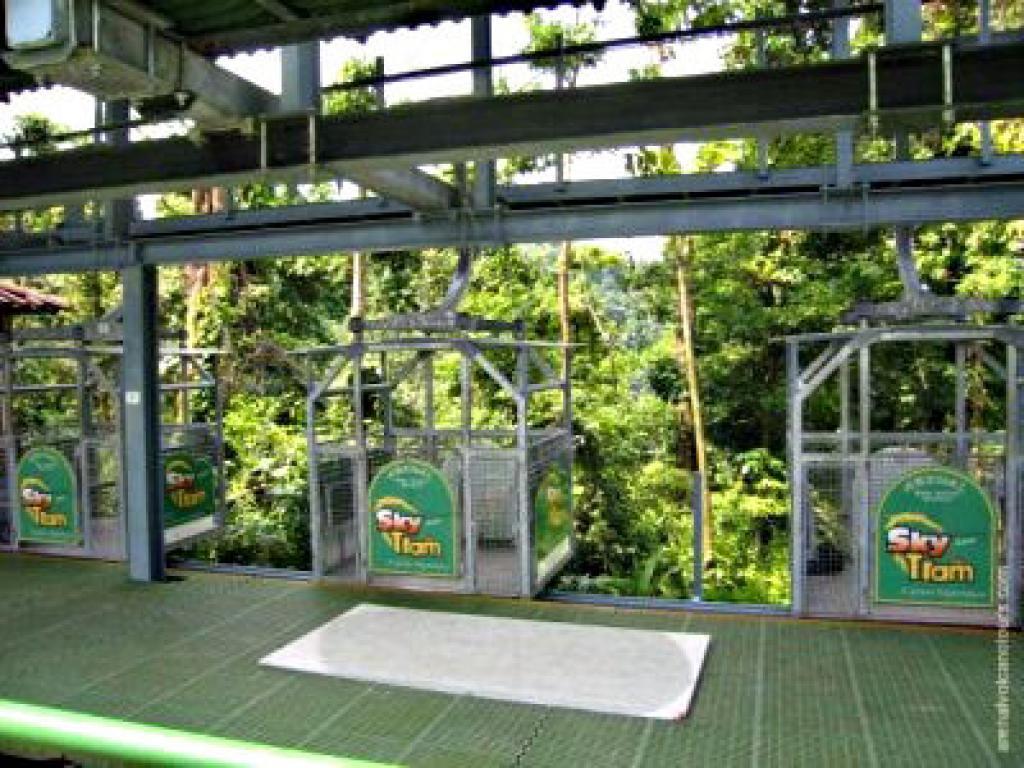Arenal Skytram and Skytrek Costa Rica
