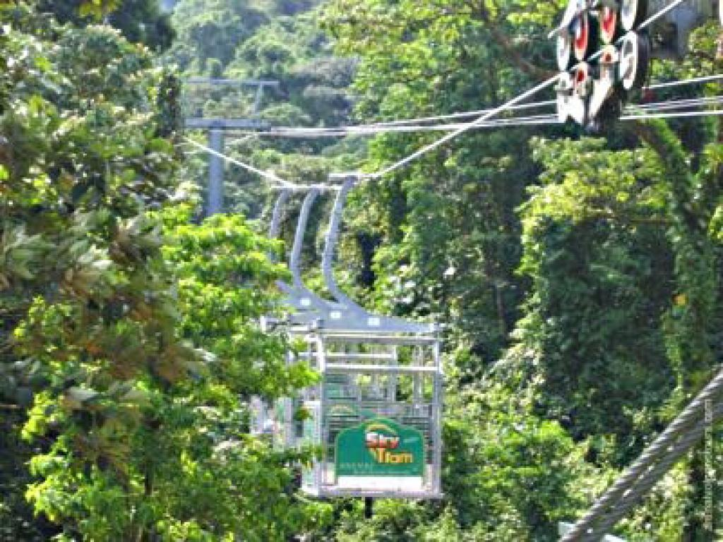 Arenal Skytram tours with Skytrek Costa Rica