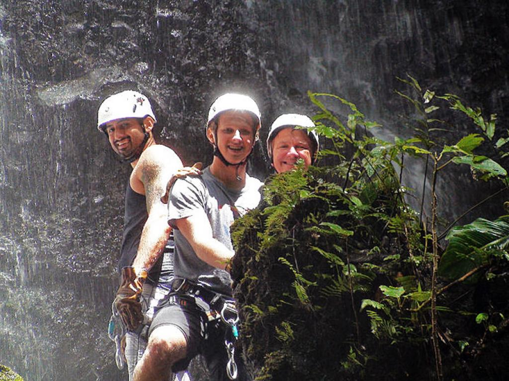 Canyoneering Costa Rica