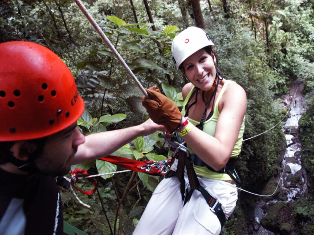 Arenal Tours Canyoneering
