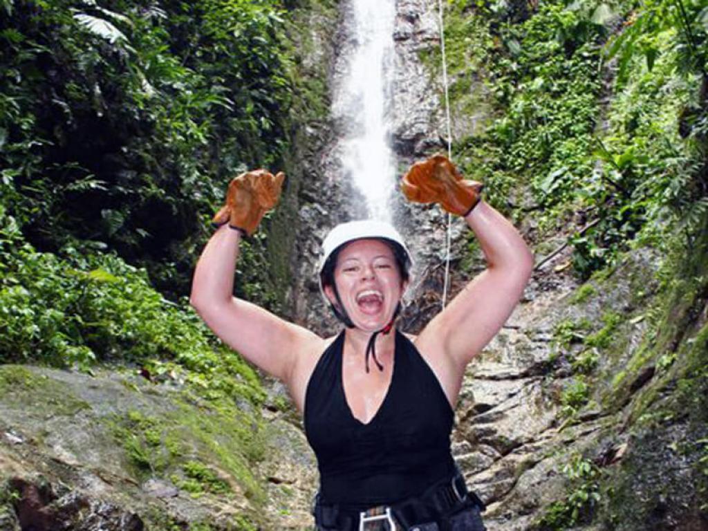 Canyoneering with Desafio Costa Rica