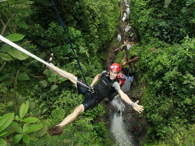 Arenal Volcano Canyoning Costa Rica