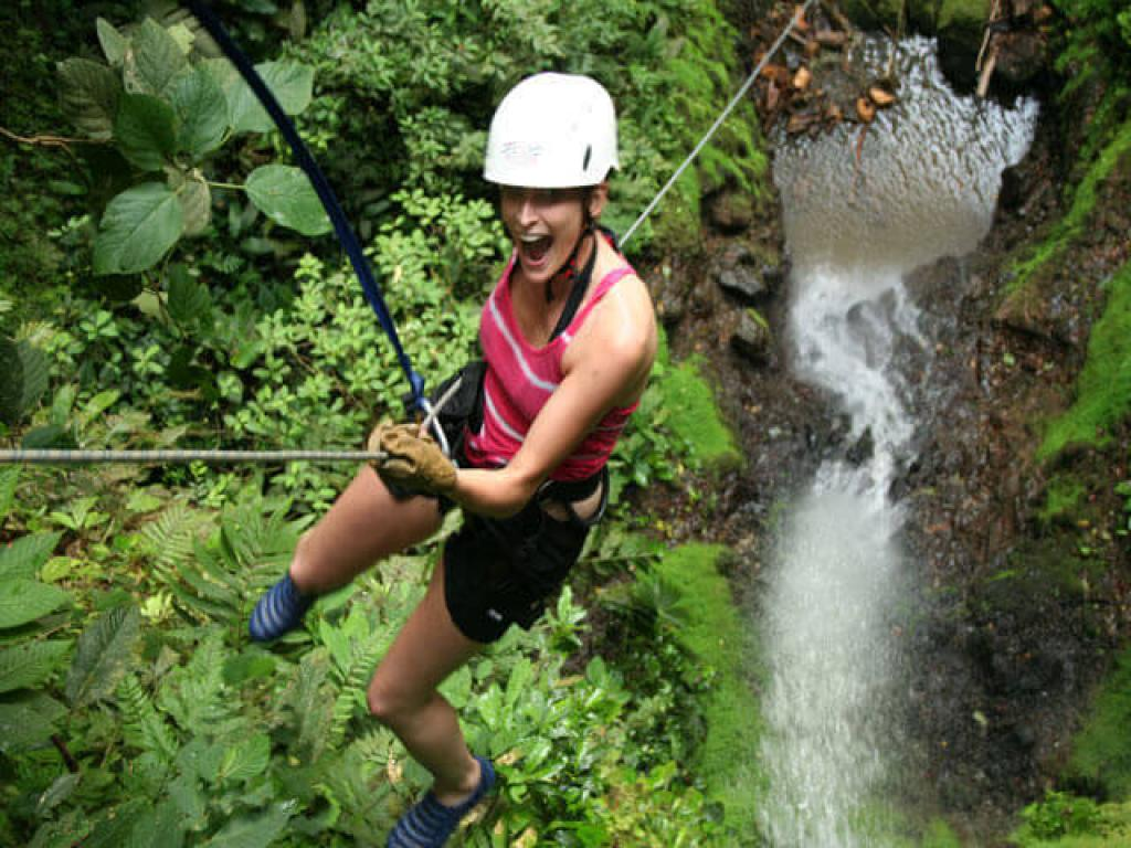 Fu Canyoning in Arenal Costa Rica