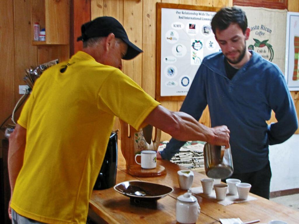 Coffee Tasting Monteverde Costa Rica