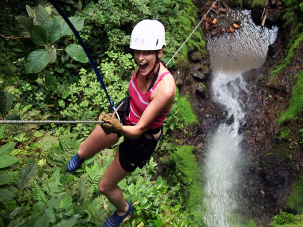 Fun Canyoning in Costa Rica