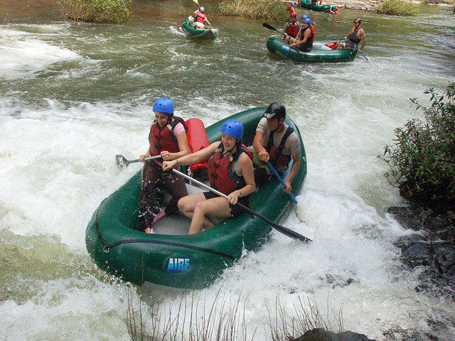 White Water Rafting Rio Tenorio