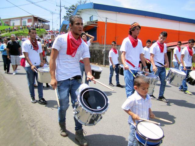 Drummers Santa Elena Parade