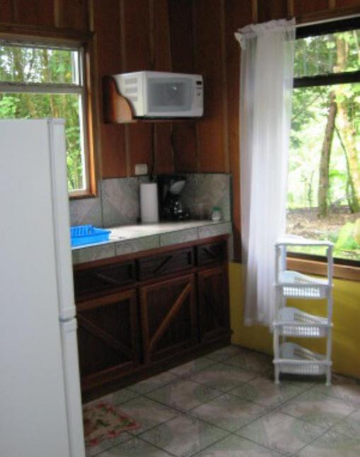 Cabanas Valle Campanas Kitchen