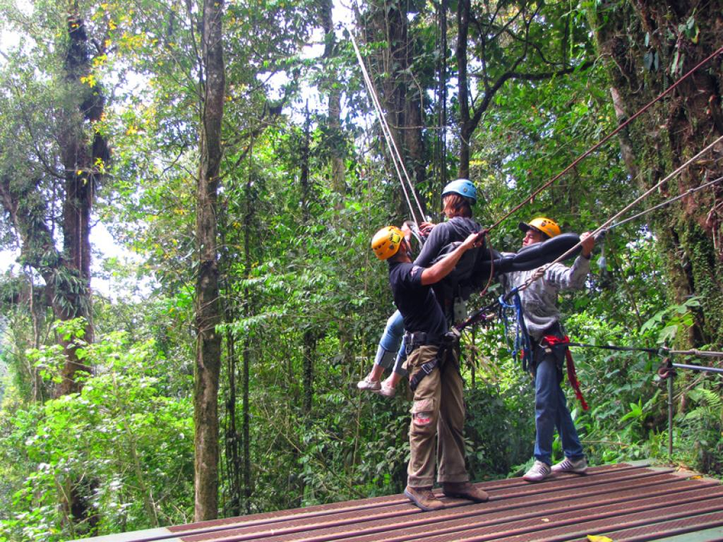 Fashion week Rica costa canopy tour what to wear for woman