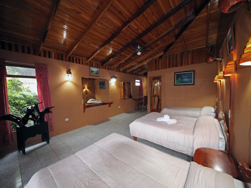 Rustic Lodge Family Room