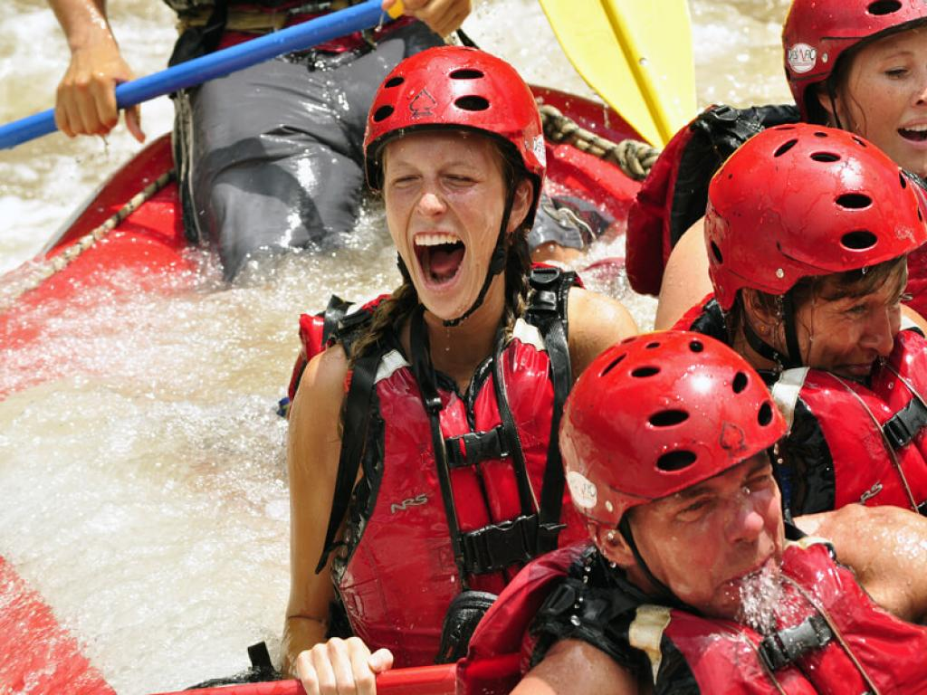 Rafting Fun in Costa Rica