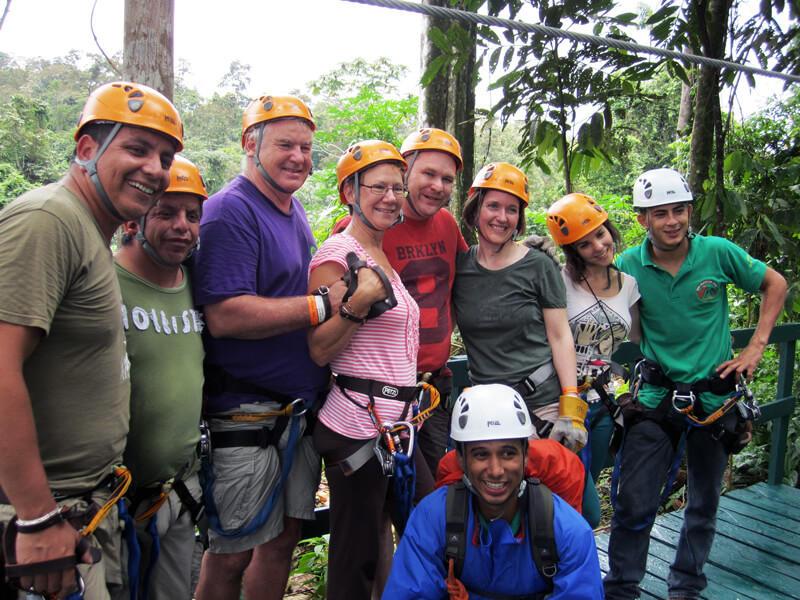 Fun Ziplining Arenal Vista Canopy