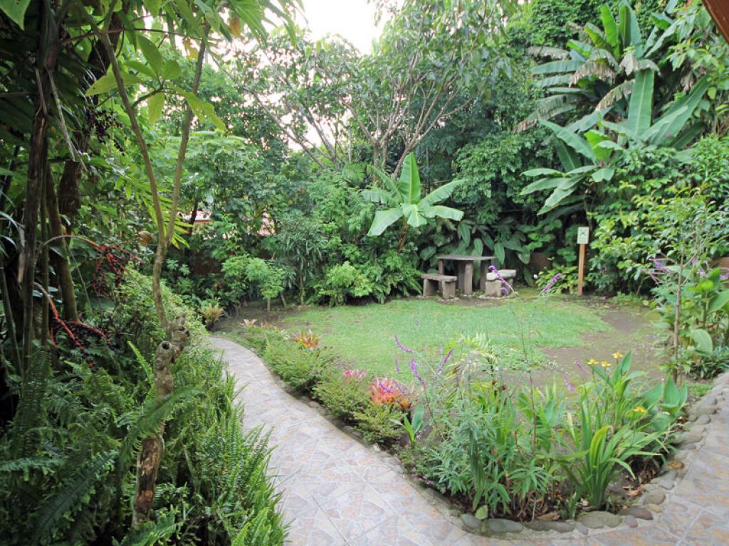 Garden Area Rustic Lodge