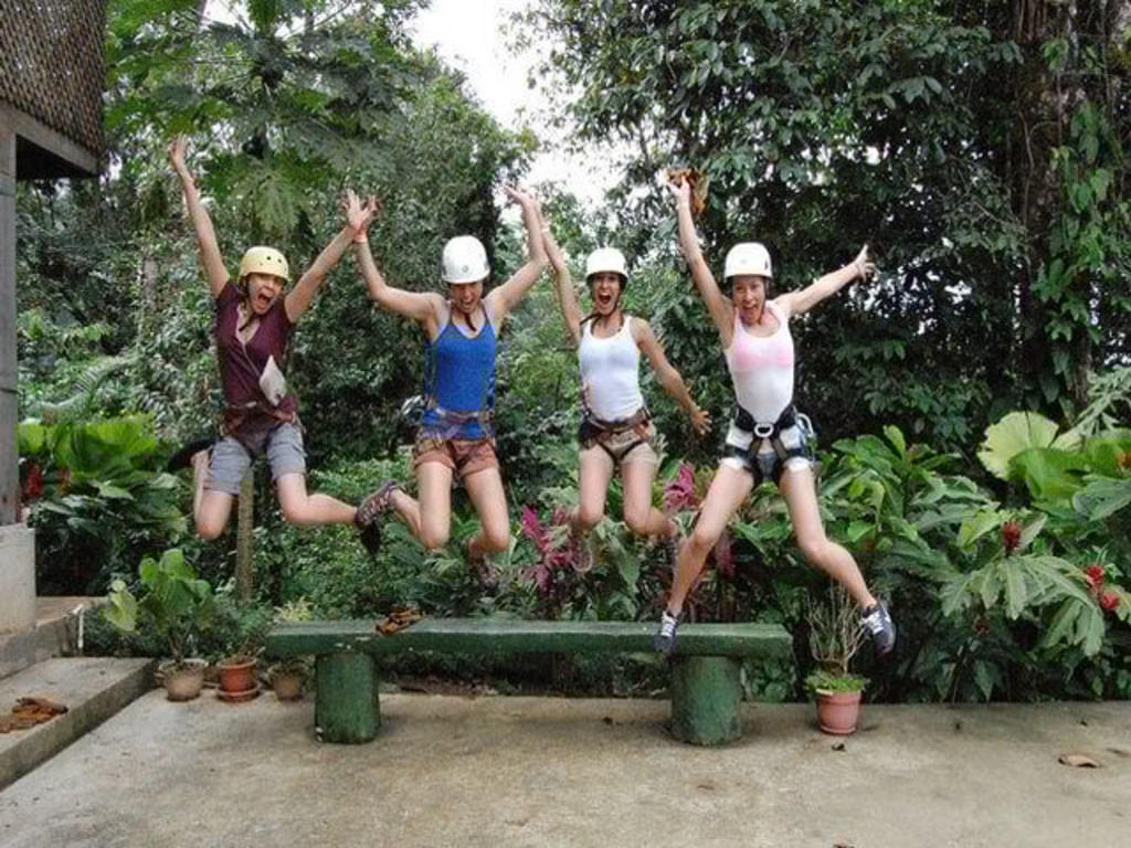 Canyoneering and Canopy Tour Arenal Combo Tour