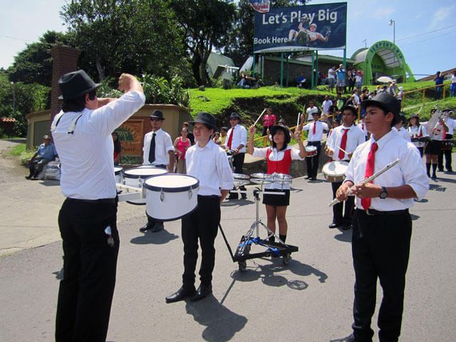 High School Independence Day Costa Rica