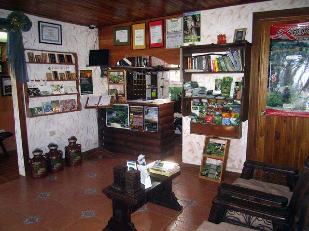 Reception Historias Lodge