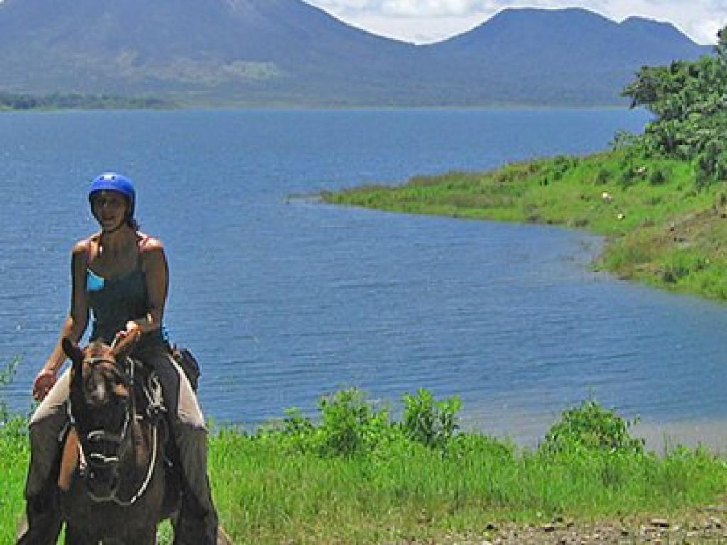 Horseback Ride Arenal Volcano to Monteverde