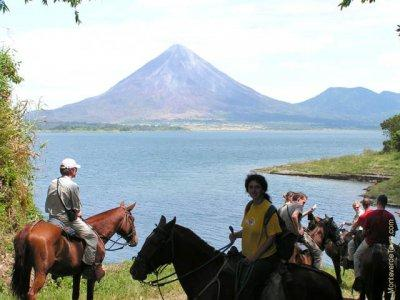 Horseback Riding Arenal to Monteverde