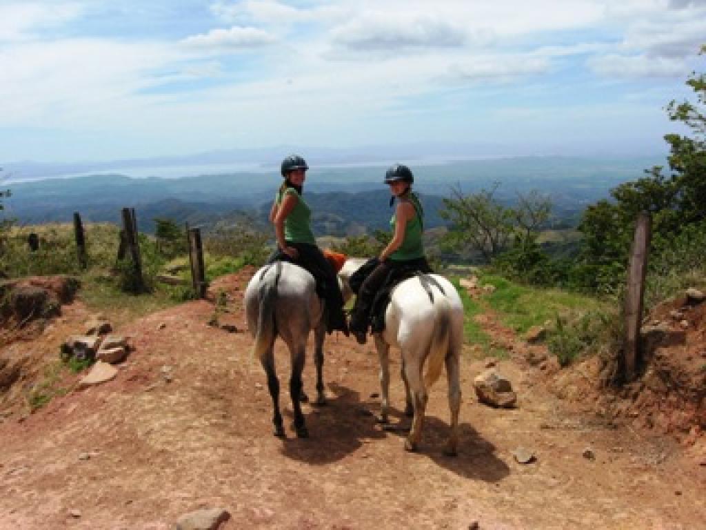 Mountain and Farm View Horseback Ride
