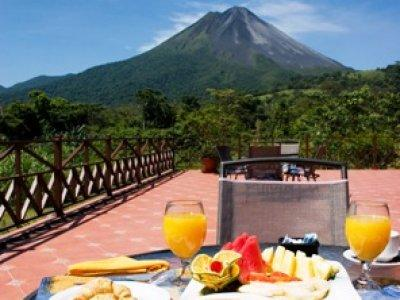 Breakfast at Arenal Springs