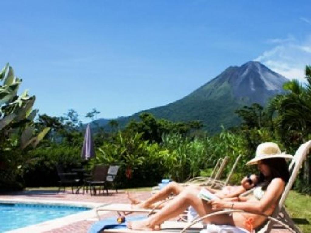 Arenal Springs Resort Relaxing