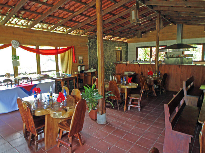Hotel El Bosque Breakfast Room