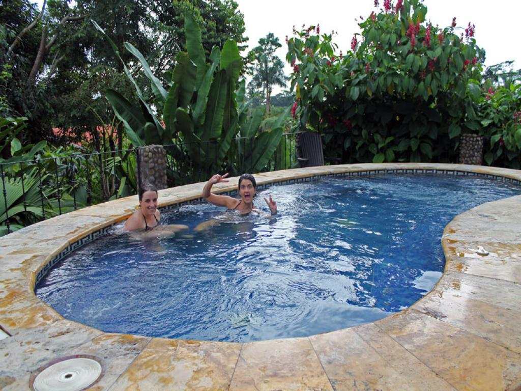 Jacuzzi Arenal Lodge
