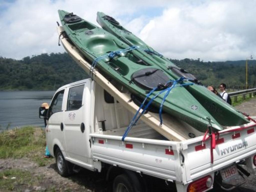 Costa Rica Kayaking on Lake Arenal