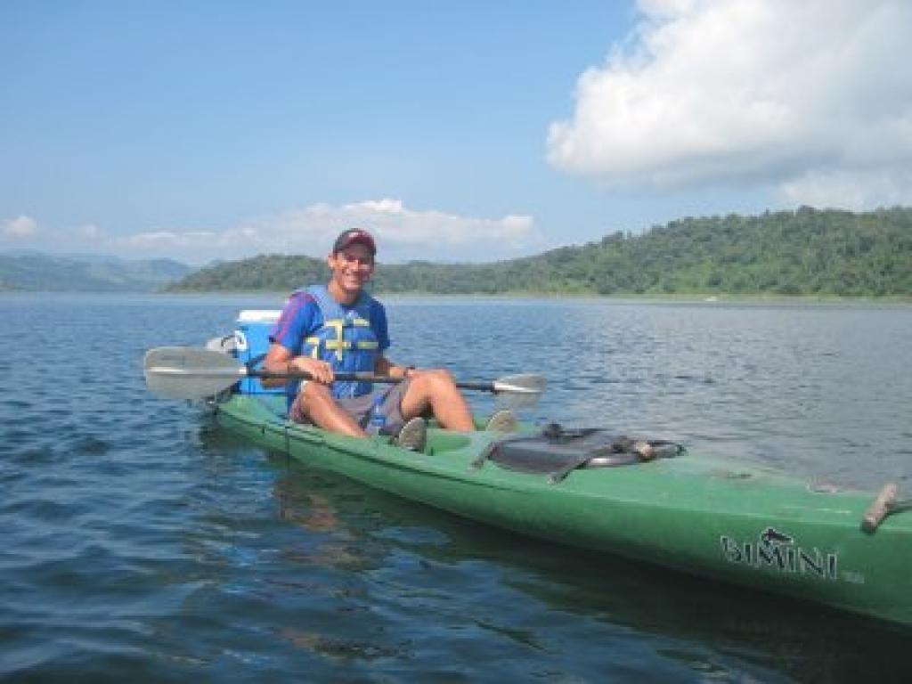 Try a Kayaking Tour on Arenal Lake