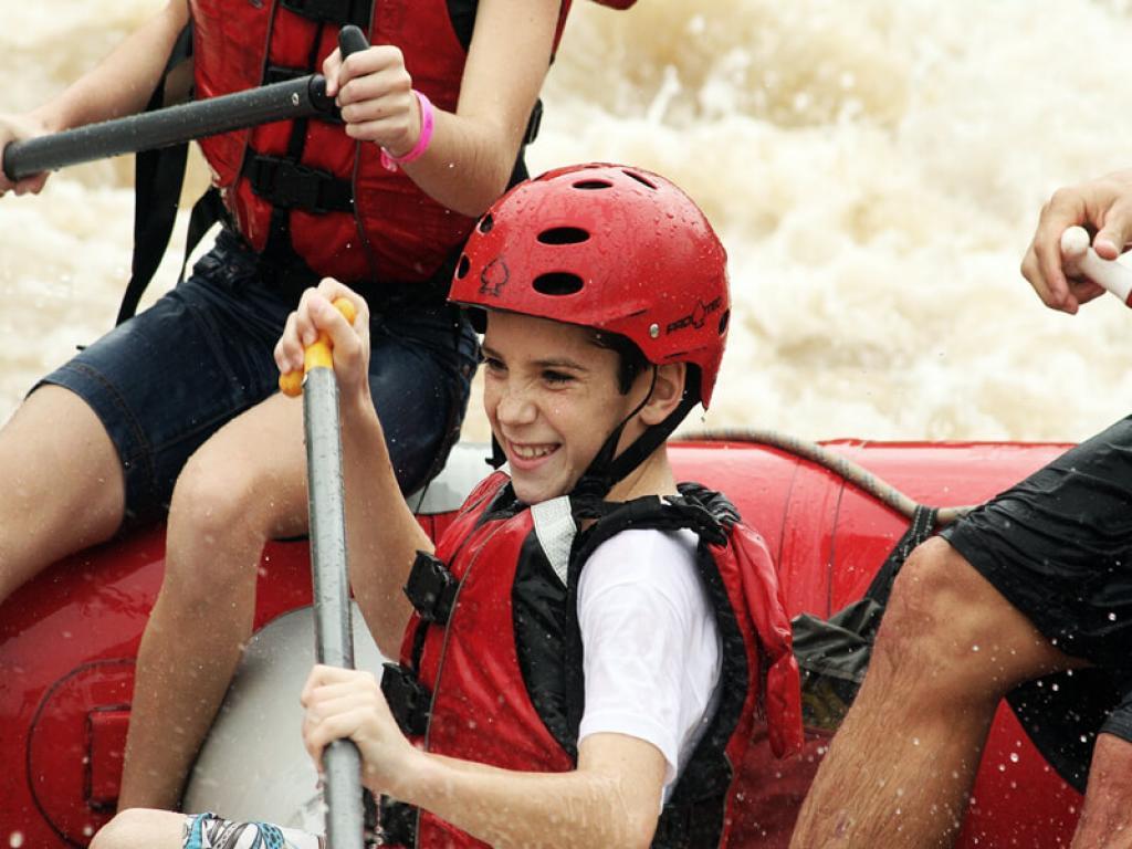 Kids Rafting Rio Balsa