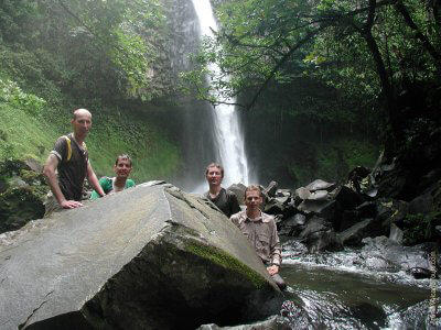 Waterfalls on Nature Tours Costa Rica