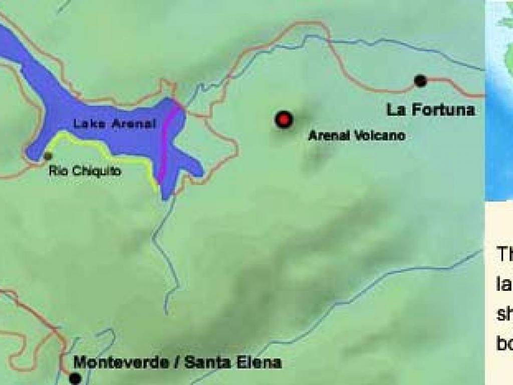 Arenal to Monteverde on Horseback