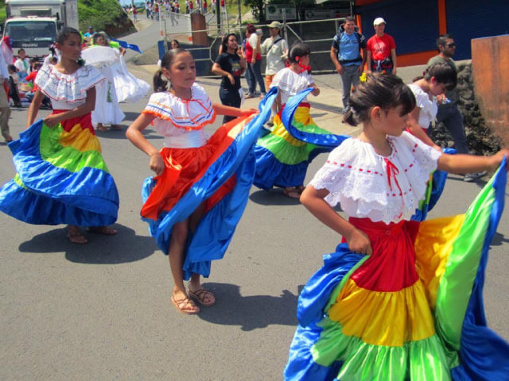 Local School Parade Monteverde