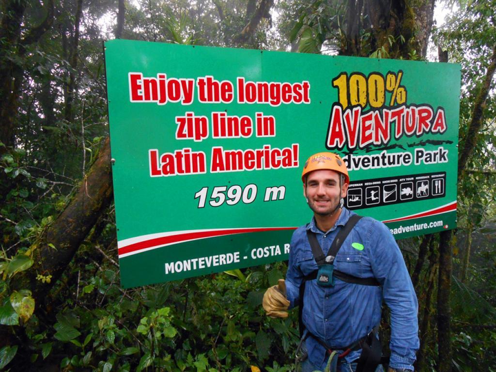 Longest cable aventura canopy tour monteverde