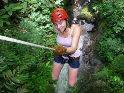Canyoneering Arenal