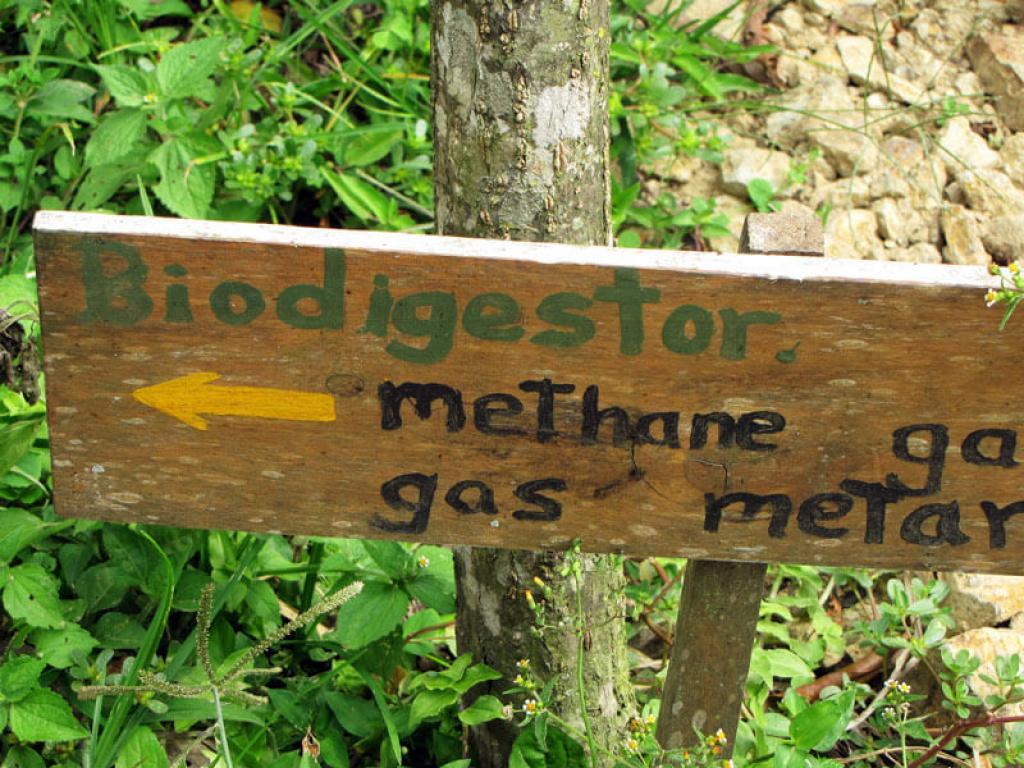 Methane Gas LIFE Monteverde Costa Rica