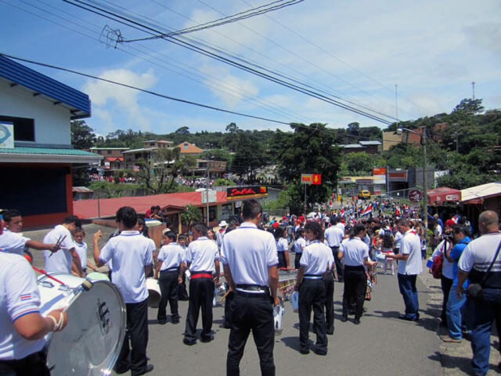 Monteverde Costa Rica Independence Day Parade