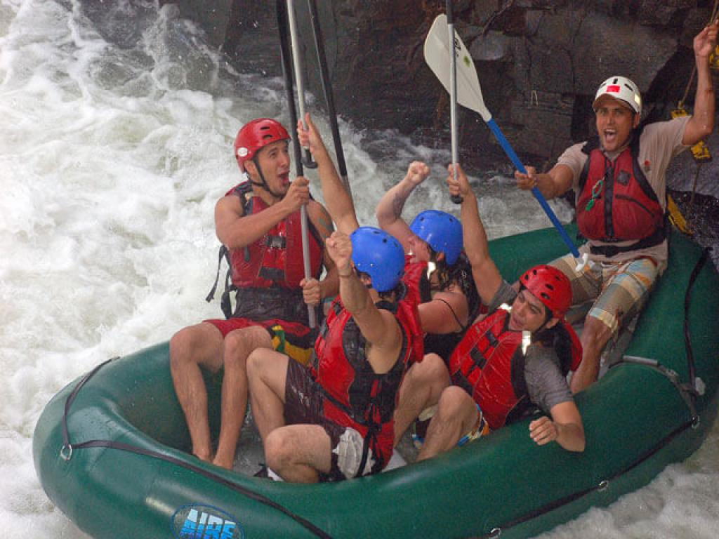 Rio Tenotio Rafting Fun