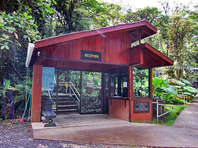 Reception Santa Elena Reserve