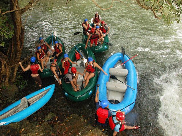 Lots of fun on Rio Tenorio in Costa Rica